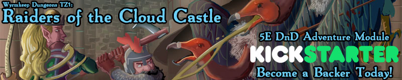 Raiders of the Cloud Castle Kickstarter